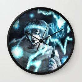 Storm God Wall Clock