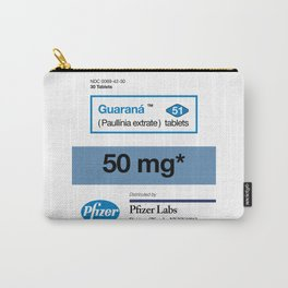 Kitchen Posters - Viagra/Guarana Carry-All Pouch