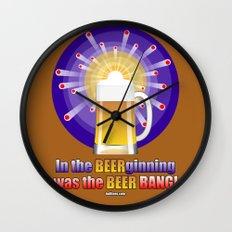 The Beer Bang! Wall Clock