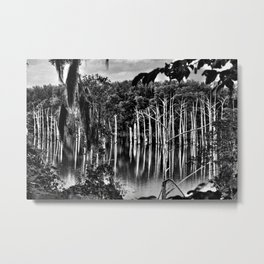 The Swamp is Alive Metal Print