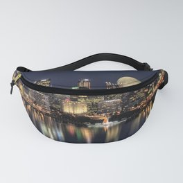 Moon Rise Over Pittsburgh Fanny Pack