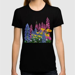 Mountain Wildflowers T-shirt