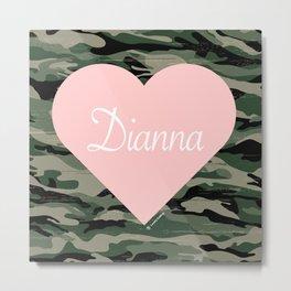 Dianna Metal Print