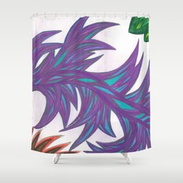 Multidimesional Tool of Truth and Justice Shower Curtain