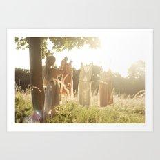 The lost fairy Art Print