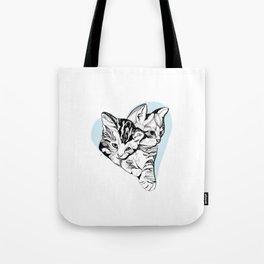 Kitten Love Tote Bag