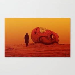 THE WASTELAND - BLADE RUNNER 2049 Canvas Print