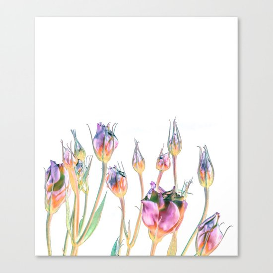 Fantasy Florals #society6 #decor #buyart Canvas Print