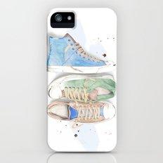 Converse Shoes iPhone (5, 5s) Slim Case