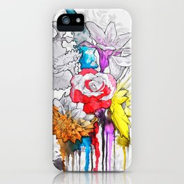 birth of a color iPhone Case