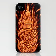 fahrenheit 451 - bradbury red variant Slim Case iPhone (4, 4s)