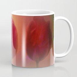 window curtain with flowerpower -4- Coffee Mug