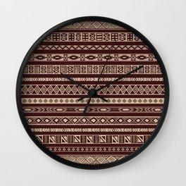 African ornament Wall Clock