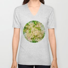 Little flower extravaganza Unisex V-Neck
