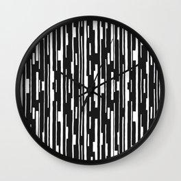 Abstract Code Wall Clock