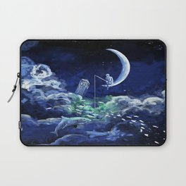 The Doctor Dreaming Of Fishing Laptop Sleeve