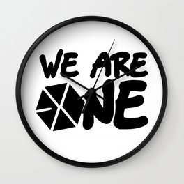 Exo We Are One Wall Clock