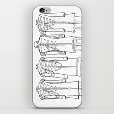 Sgt. Peppers BW iPhone & iPod Skin