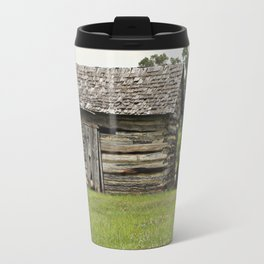 Old truck and cabin Travel Mug