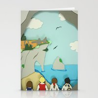 narnia Stationery Cards featuring Ruins in Narnia? by Deer Heart Sly Fox
