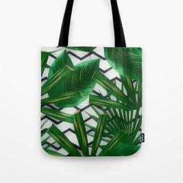 Tropical Greens Tote Bag