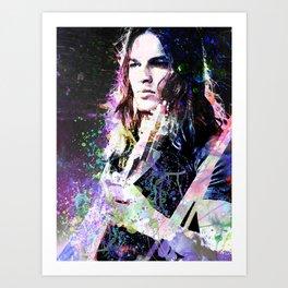 David Gilmour Art Print