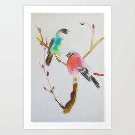 Bird Song Art Print