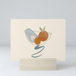 Fruity Swirls Mini Art Print