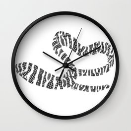 That'sa Moray (zebra moray eel) Wall Clock