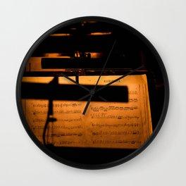 Habanera Notes Wall Clock