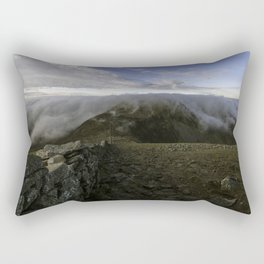 Slieve Donard mountain view Rectangular Pillow