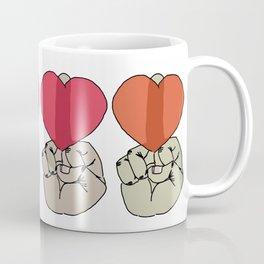 mid-fing-luv Coffee Mug