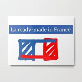 Ironème « La ready-made in France » Metal Print