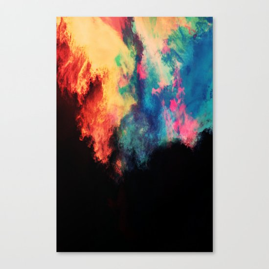 Painted Clouds V.I Canvas Print