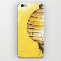 lantern iPhone & iPod Skins featuring Lantern by Emma Stein