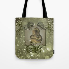 Indian elephant Tote Bag