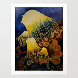Jelly Girls Art Print
