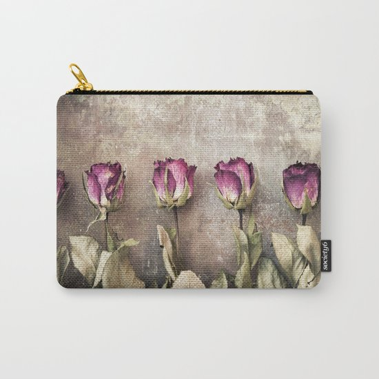 Five dried roses Carry-All Pouch