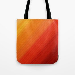 Linear Fire Tote Bag