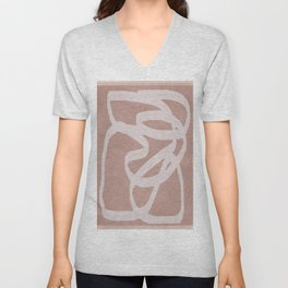 Abstract Flow I Unisex V-Neck