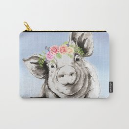 Petunia Pig Carry-All Pouch