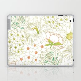 Big Blooms Laptop & iPad Skin