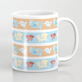 Vulpix and Ninetales Stripe Coffee Mug