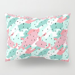 Pastel Camo Pillow Sham
