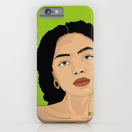 green kira iPhone Case