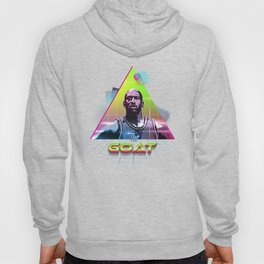 The GOAT 80's Neon Abstract Hoody