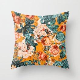 SUMMER GARDEN III Throw Pillow