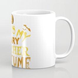 Scary Teacher Costume Coffee Mug