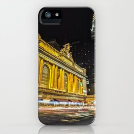 Outside Grand Central Station iPhone Case