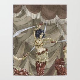 Midnight Circus: Sword Dancers Poster